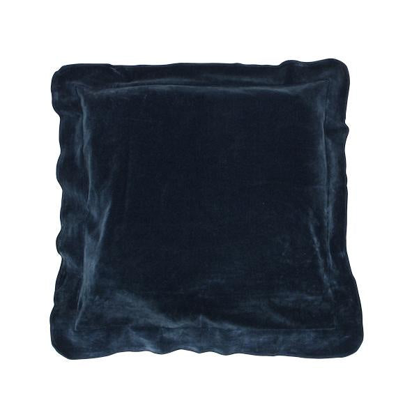 Boudior Navy Flange Cushion 45cm