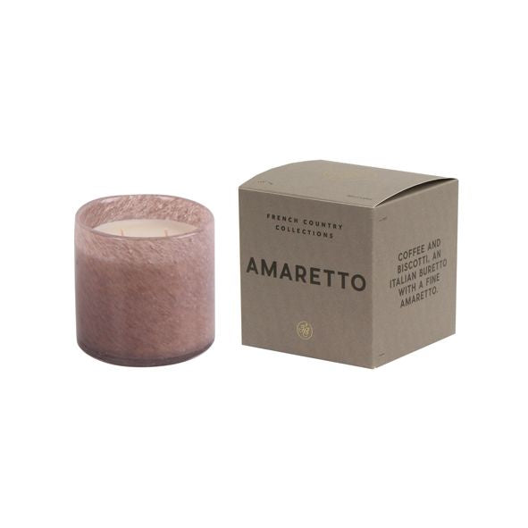 Amaretto Glass Candle