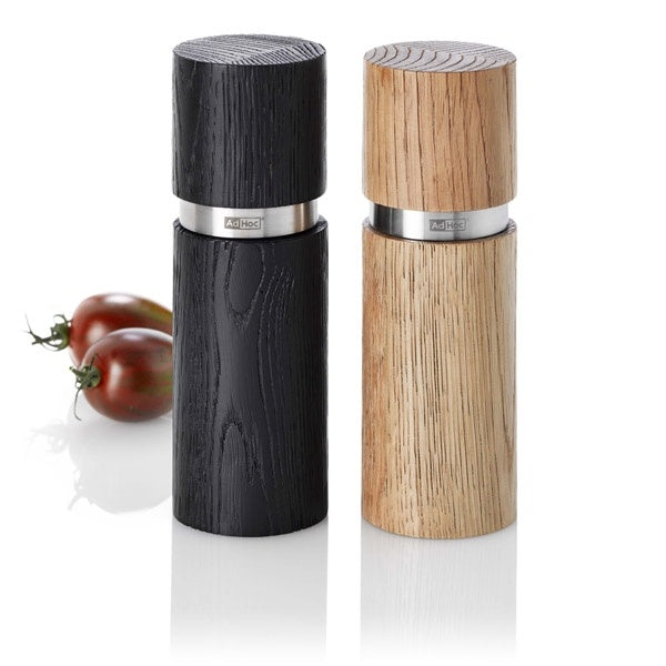 Adhoc Textura Salt & Pepper Mill Set 15cm