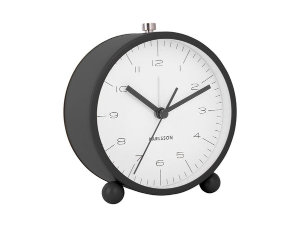 Karlsson Alarm Clock Pellet Feet Black