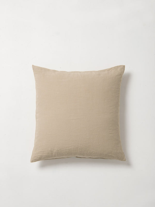 Sove Linen Euro Pillowcase Olive