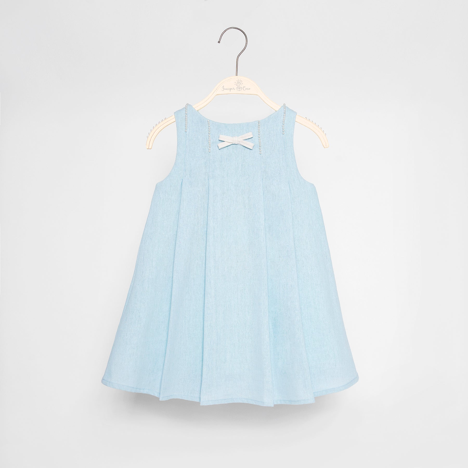 Juniper Dress (Baby Blue)