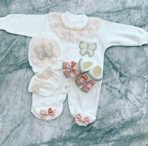 Princess Butterfly Pearl Set