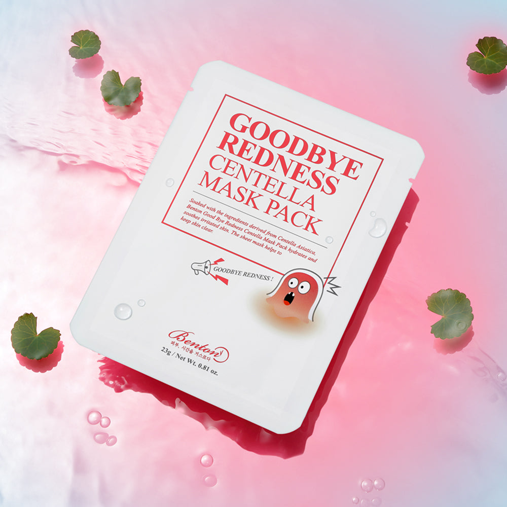 Goodbye Redness Centella Mask Pack (Single)