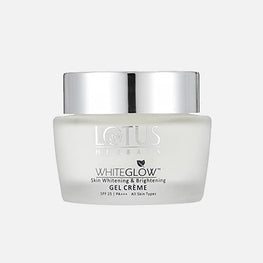 Lotus White Glow Whitening Brightening Gel Cream Spf 25 60gm