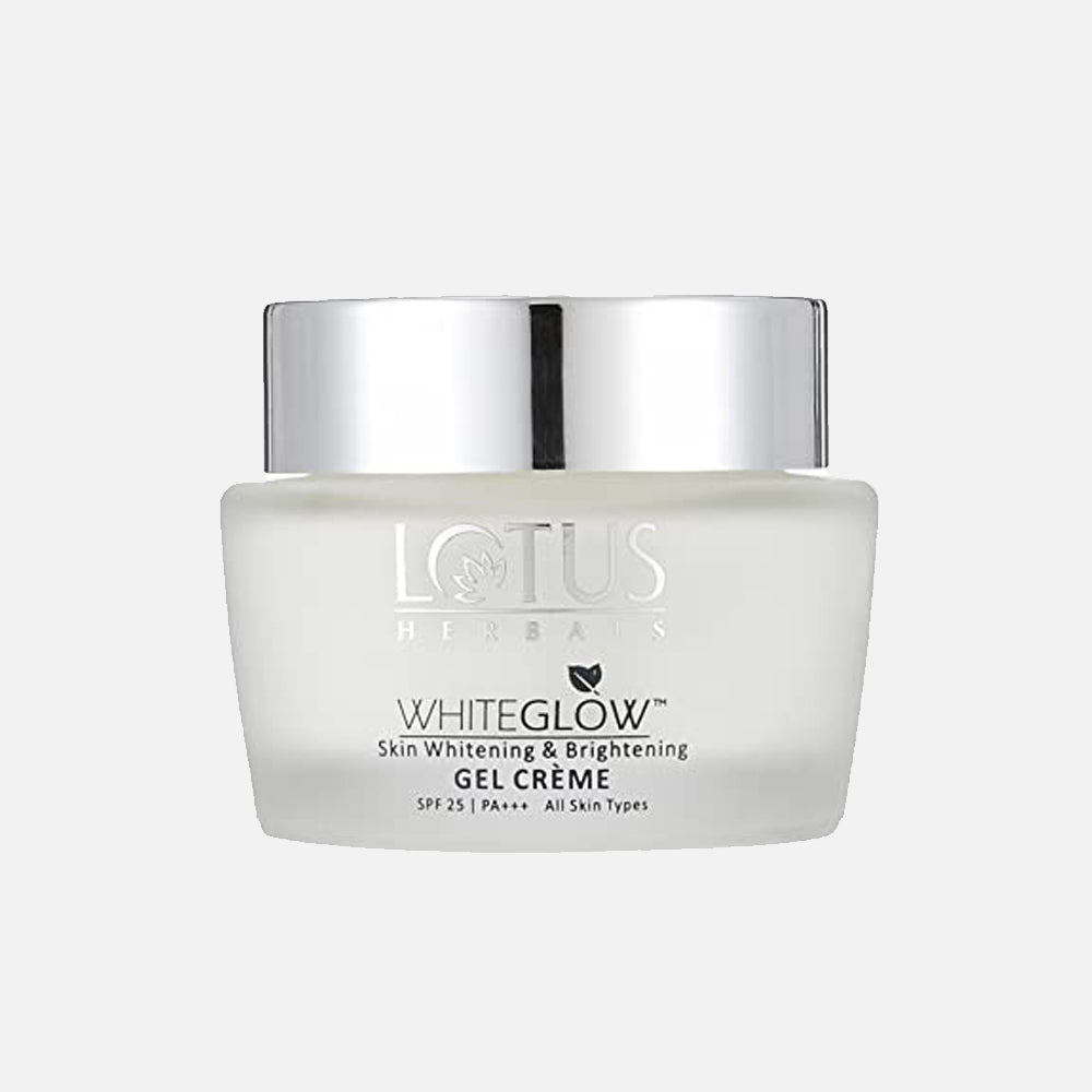 Lotus White Glow Whitening Brightening Gel Cream Spf 25 40gm