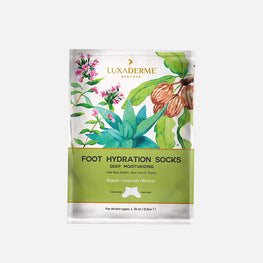 LuxaDerme Deep Moisturizing - Foot Hydration Socks