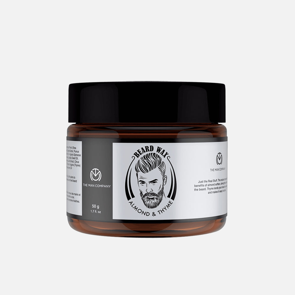 The Man Company Beard Wax Almond & Thyme