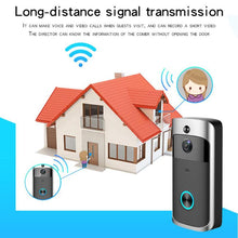 Smart WiFi Video Doorbell 720P
