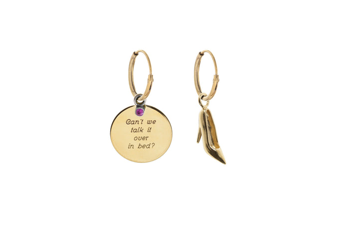 Jasmien Witvrouwen - Can't we talk it over in bed? – Valentine Limited Edition – Earrings