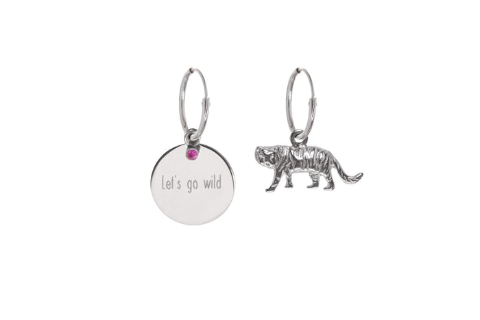 Jasmien Witvrouwen - Let's Go Wild – Earrings – SOLD OUT