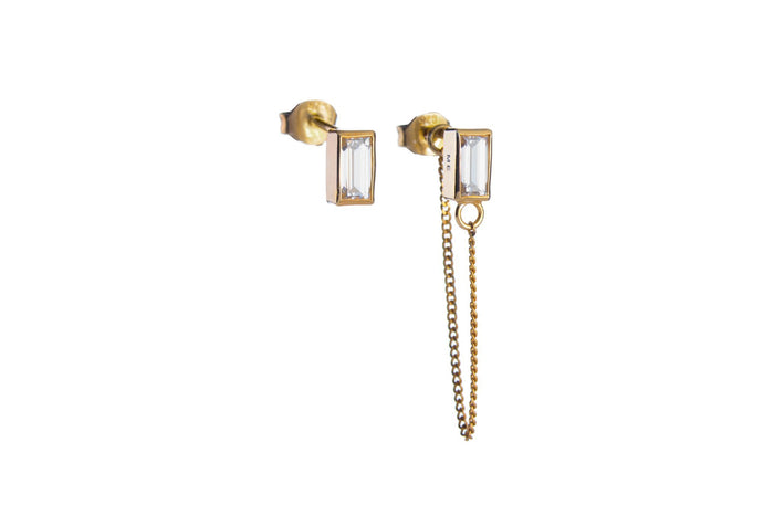 Jasmien Witvrouwen - Stud earrings 'Protect me' – SOLD OUT