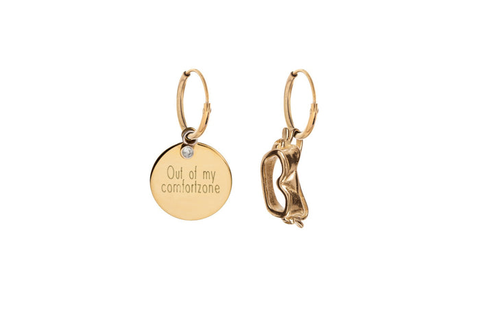 Jasmien Witvrouwen - Out Of My Comfortzone – Earrings – SOLD OUT
