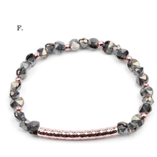 Load image into Gallery viewer, Geometric Crystal Beads Bracelets
