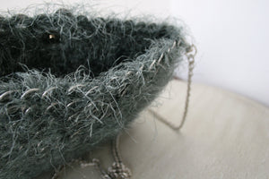 Furry Can Tab Purse - Hooking Hands