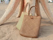 Load image into Gallery viewer, Long Vintage Straw Bag