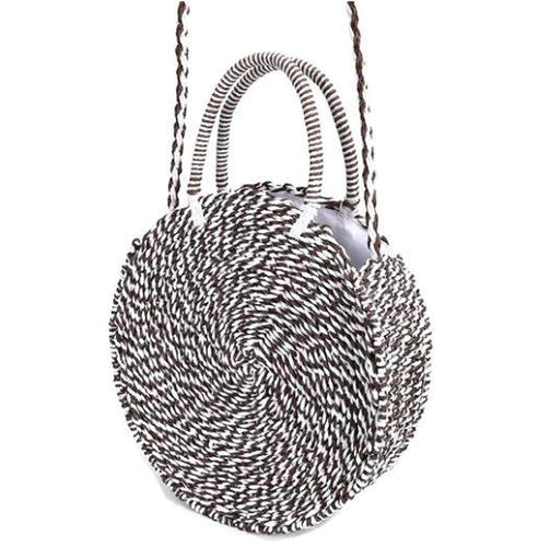 Gina Striped Handbag