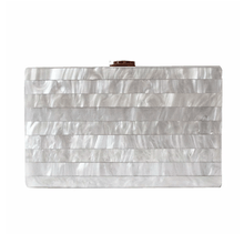 Load image into Gallery viewer, Perla Acrylic Evening Clutch