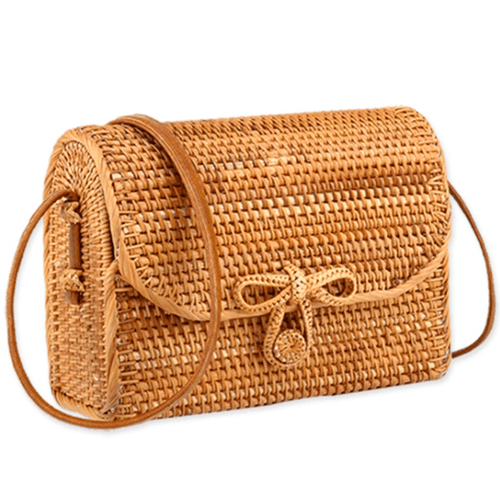 Ariana Flap Rattan Bag