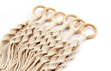 Load image into Gallery viewer, Hand-Woven Macrame Pot Holder