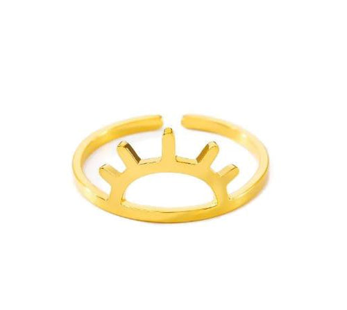 Sunset Stainless Steel Ring