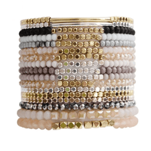Load image into Gallery viewer, Crystal Strand Stacking Bracelets