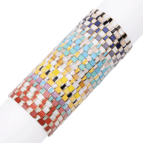 Stackable Colorful Beaded Bracelets