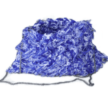 Load image into Gallery viewer, Funky Fabric Yarn Handbag - Hooking Hands