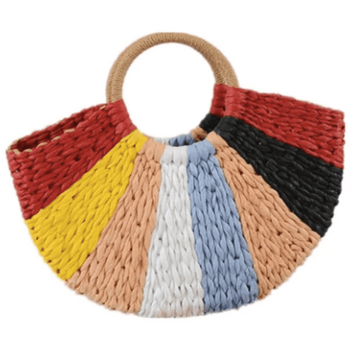 Bella Beach Straw Bag