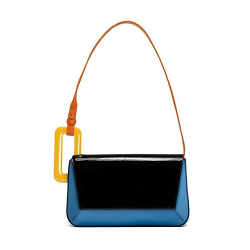 Autum Acrylic Rectangle Buckle Bag