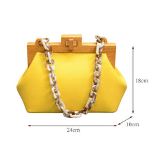 Load image into Gallery viewer, Maggie Acrylic Chain Purse
