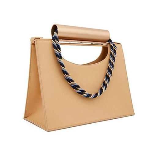 Luna Modern Handle Handbag