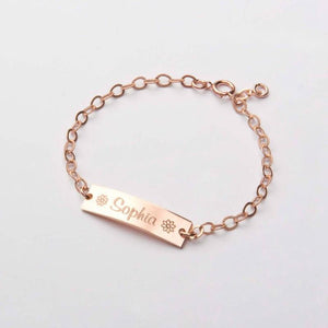 ToddleBee Name Bracelet