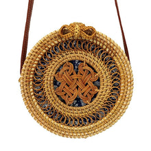Load image into Gallery viewer, Vanny Vintage Rattan Handbag