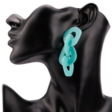 Load image into Gallery viewer, Big Bold Acrylic Drop Earrings