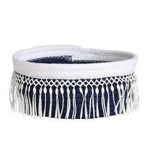 Load image into Gallery viewer, Cute Fringe Cotton Rope Storage Bin