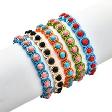 Load image into Gallery viewer, Colorful Stackable Bubble Bracelets