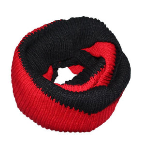 Thick Two Color Winter Scarf