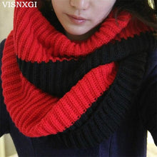 Load image into Gallery viewer, Thick Two Color Winter Scarf