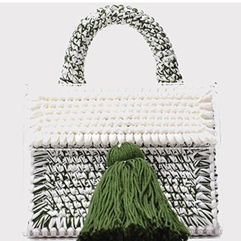 Denisse Hand-knitted Wool Bags