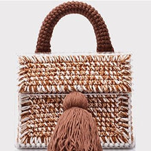 Load image into Gallery viewer, Denisse Hand-knitted Wool Bags
