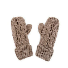 Load image into Gallery viewer, Knitted Hat Gloves Scarf Set - Hooking Hands