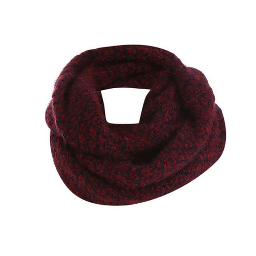 Elegant Knitted Women Winter Scarf - Hooking Hands