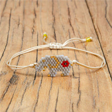 Load image into Gallery viewer, Beaded Elephant Bracelet - Hooking Hands