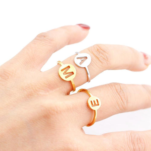Allenti Hollow Letter Ring