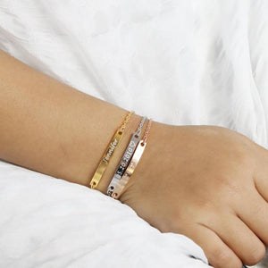 Ever Willow Bar Bracelet
