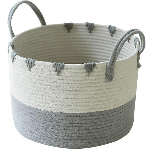 Lovely Multi-function Knitted Storage Basket