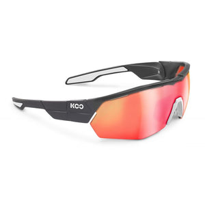 Koo Open Cube Anthracite Matte/White w/Red Mirror