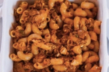 Plant Based Dairy Free Sloppy Joe Mac and Cheese Image