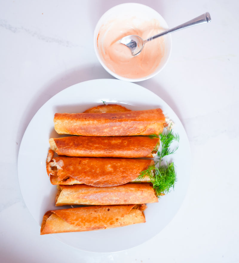 Real Shredded Chicken Dairy Free Taquitos Image